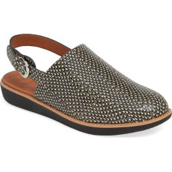 Women's Fitflop Sage Snake Print Slingback Wedge found on MODAPINS from Nordstrom for USD $139.95
