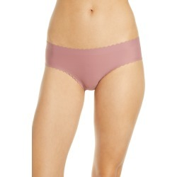 Women's Knix Essential Scallop Cheeky Bikini, Size X-Large - Pink found on MODAPINS from LinkShare USA for USD $18.00