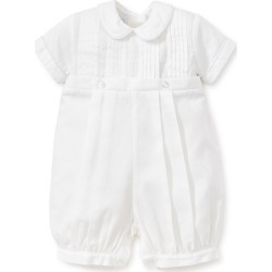 Infant Boy's Kissy Kissy Alexander Collared Romper, Size 3-6M - White found on Bargain Bro India from LinkShare USA for $126.00
