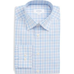 Men's Eton Slim Fit Plaid Dress Shirt found on MODAPINS from Nordstrom for USD $275.00
