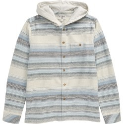 Boy's Billabong Baja Hooded Flannel Shirt
