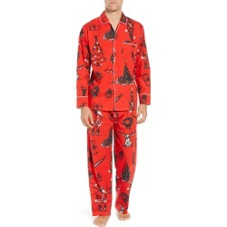 Men's Sant And Abel X Donald Robertson Xmas Eve Pajamas found on MODAPINS from Nordstrom for USD $63.98