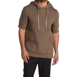 Helmut Lang Short Sleeve Hooded Sweatshirt at Nordstrom Rack found on MODAPINS from Nordstrom Rack for USD $265.00