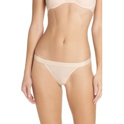 Women's Negative Underwear Silky Thong, Size Medium - Coral found on Bargain Bro Philippines from LinkShare USA for $28.00