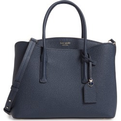 Kate Spade New York Large Margaux Leather Satchel - Blue found on Bargain Bro India from Nordstrom for $358.00