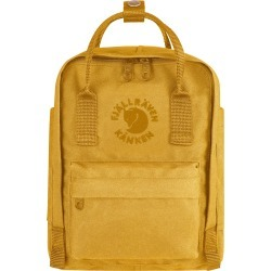 Fjallraven Mini Re-Kanken Water Resistant Backpack - Yellow found on MODAPINS from LinkShare USA for USD $80.00