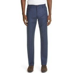 Men's Canali Heathered Sport Men's Wool Dress Pants, Size 50R EU - Blue found on Bargain Bro from Nordstrom for USD $300.20