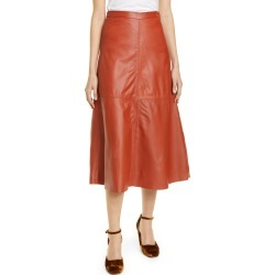 Women's Rachel Comey Content Leather Skirt, Size 0 - Brown (Nordstrom Exclusive) found on Bargain Bro Philippines from LinkShare USA for $298.50