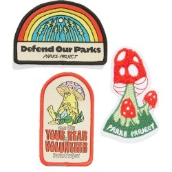 Men's Parks Projects Good Vibes Set Of 3 Embroidered Patches - found on Bargain Bro India from Nordstrom for $24.00