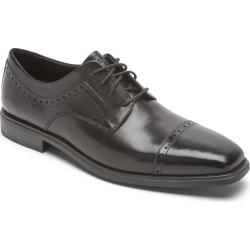 Men's Rockport Dressports Business 2 Cap Toe Derby, Size 10.5 M - Black found on Bargain Bro India from Nordstrom for $70.00