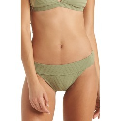 Women's Billabong Peeky Days Topic Bikini Bottoms, Size Medium - Green found on Bargain Bro Philippines from Nordstrom for $49.95