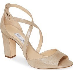 Women's Jimmy Choo Carrie Shimmer Sandal, Size 10US - Beige (Nordstrom Exclusive) found on Bargain Bro India from LinkShare USA for $695.00