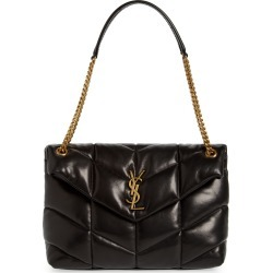 Saint Laurent Medium Loulou Puffer Quilted Leather Crossbody Bag - Black found on Bargain Bro Philippines from Nordstrom for $2390.00