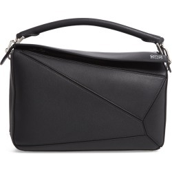 Loewe Puzzle Medium Leather Shoulder Bag - Black found on MODAPINS from Nordstrom for USD $2900.00