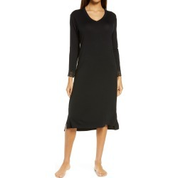 Women's Nordstrom V-Neck Nightgown, Size Small - Black found on MODAPINS from Nordstrom for USD $49.00