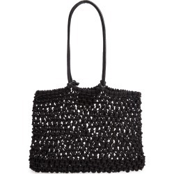 Clare V. Sandy Woven Market Tote - Black found on Bargain Bro Philippines from Nordstrom for $135.00