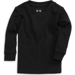 Infant Boy's 1212 The Daily Organic Cotton Long Sleeve T-Shirt, Size 0-3M - Black found on Bargain Bro India from Nordstrom for $24.00
