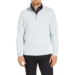Men's Peter Millar Perth Quarter Zip Performance Pullover, Size Small - Grey found on Bargain Bro Philippines from LinkShare USA for $98.00