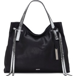 Vince Camuto Rilo Leather Tote - Black found on Bargain Bro India from LinkShare USA for $248.00