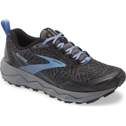 Women's Brooks Divide Trail Running Shoe, Size 5 B - Grey found on Bargain Bro from Nordstrom for USD $76.00