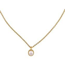 Women's Christina Greene Dainty Cultured Pearl Pendant Necklace found on Bargain Bro Philippines from Nordstrom for $85.00