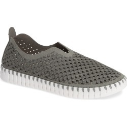 Women's Ilse Jacobsen Tulip 139 Perforated Slip-On Sneaker, Size 8US - Grey found on Bargain Bro Philippines from LinkShare USA for $83.95
