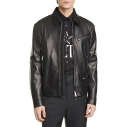 Men's Valentino Leather Jacket found on MODAPINS from Nordstrom for USD $3950.00