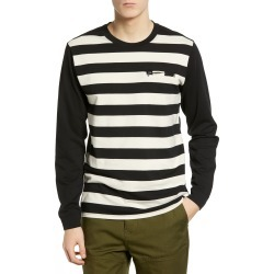 Men's Hurley Moto Striped Long Sleeve T-Shirt found on MODAPINS from Nordstrom for USD $23.98