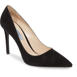 Women's Prada Pointy Toe Pump, Size 8.5US / 38.5EU - Black (Nordstrom Exclusive) found on MODAPINS from Nordstrom for USD $675.00