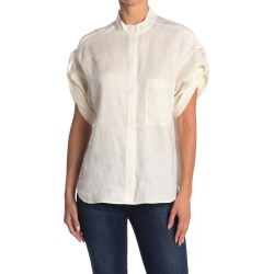 Equipment Drace Cuffed Linen Blouse at Nordstrom Rack found on MODAPINS from Hautelook for USD $195.00