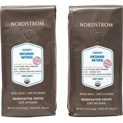 Nordstrom 2-Pack Kintamani Natural Light Roast Whole Bean Coffee found on Bargain Bro Philippines from Nordstrom for $31.95
