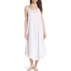 Women's Papinelle Swiss Dot Nightgown, Size Medium - White found on MODAPINS from Nordstrom for USD $69.00
