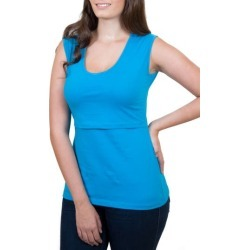 Women's Nurture-Elle Mamawear Scoop Neck Nursing Tank