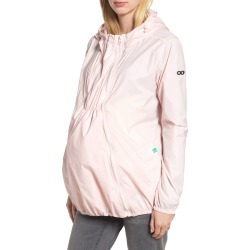 Women's Modern Eternity Waterproof Convertible 3-In-1 Maternity Windbreaker, Size Large - Pink found on Bargain Bro India from Nordstrom for $79.95