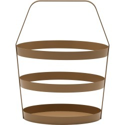 Design On Stock Usa Basket, Size One Size - Brown