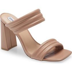 Women's Steve Madden Tahani Trapunto Strap Sandal, Size 9.5 M - Beige found on Bargain Bro Philippines from Nordstrom for $99.95