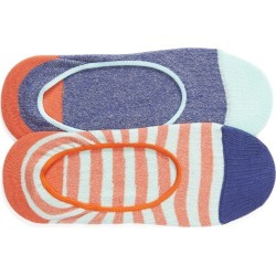 Women's Hysteria By Happy Socks 2-Pack Claudia No-Show Socks, Size One Size - Blue found on MODAPINS from Nordstrom for USD $24.00