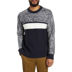 Men's Club Monaco Slim Fit Fisherman Sweater, Size Large - Blue found on Bargain Bro Philippines from Nordstrom for $79.75