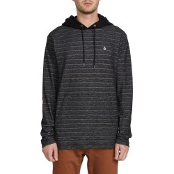 Men's Volcom Chiller Pullover Hoodie, Size Large - Black