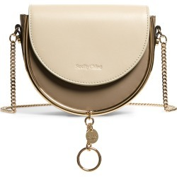 See By Chloe Mara Leather Saddle Bag - Beige found on Bargain Bro Philippines from Nordstrom for $395.00