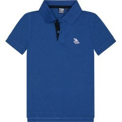 Toddler Boy's Tom & Teddy Pique Polo, Size 1-2Y - Blue found on Bargain Bro Philippines from Nordstrom for $44.95