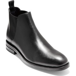 Men's Cole Haan Wakefield Grand Waterproof Chelsea Boot, Size 8 M - Black found on Bargain Bro India from LinkShare USA for $240.00