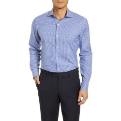 Men's Bugatchi Trim Fit Check Dress Shirt found on MODAPINS from Nordstrom for USD $77.40