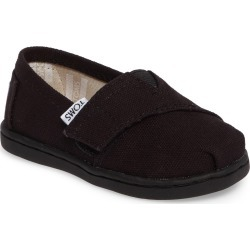 Toddler Toms 2.0 Alpargata Slip-On, Size 10 M - Black
