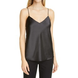 Women's Club Monaco Kora Satin Camisole, Size X-Small - Black found on Bargain Bro Philippines from Nordstrom for $98.50
