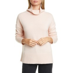 Women's Nordstrom Signature Turtleneck Cashmere Sweater, Size Large - Pink found on Bargain Bro India from LinkShare USA for $83.70