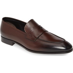 Men's Prada Penny Loafer, Size 12US - Brown found on MODAPINS from Nordstrom for USD $850.00