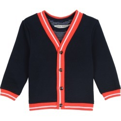 Toddler Boy's Little Brother By Pippa & Julie Cardigan & Tank Top Set, Size 4T - Blue found on Bargain Bro Philippines from Nordstrom for $54.00
