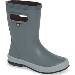 Toddler Boy's Bogs Skipper Solid Rubber Rain Boot, Size 5 M - Grey found on Bargain Bro Philippines from Nordstrom for $35.00