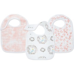 Infant Aden + Anais Classic Snap Bib, Size One Size - Pink found on Bargain Bro Philippines from LinkShare USA for $19.95